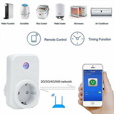 EU Plug Wifi Wireless Phone APP Remote Control Timer Switch Smart Power Socket