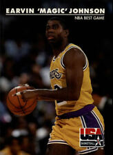 Magic Johnson #31 Skybox USA 1992 NBA Basketball Card