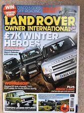 Land Rover Owner International August 2013 Disco 3, New Range Rover Sport Test