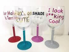 RuPaul's Drag Race Quote Wine Glass Set Adore Delano Bianca Del Rio Alaska ect
