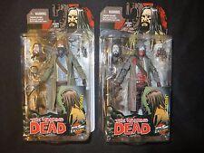 McFarlane Walking Dead Jesus figure comic color, black & white Skybound excellen