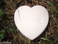 "Heart stepping stone mold  11"" x over 1"" deep"
