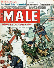 Male Woman Riot AT French Rock NAUTILUS Bruce Minney OPERATION SWALLOW GGA 1960