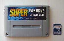 Super Everdrive Nintendo SNES Famicom Flash Cart + 8gb Sd Card SFC NES SUPABOY S