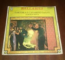 """Alberto Rota 45 Giri """" TORTORA E CANARINO-VALZER DELLE CANDELE """" Penny"""