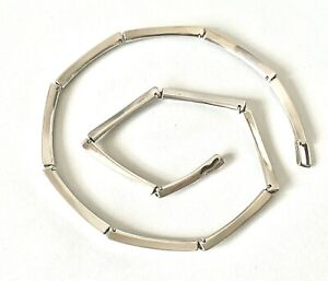 Designer LBJ Solid Sterling Cleopatra Style - 16.5inch