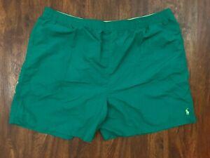 Ralph Lauren green Swim Shorts Trunks Green Pony 6XB