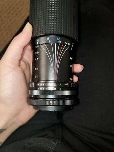Tokina RMC 70-210mm f3.5 Universal Pentax Manual Zoom Lens W/ Adapter