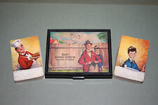 """""""The Gay Philosopher"""" 2 Vintage Playing Card Decks & Case, Chef & His Son Junior"""