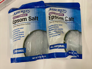 2 Assured Multi-Purpose Epson Salt Natural Magnesium Sulfate Ships Fast from USA