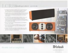 Mcintosh LRC80 Original Speaker Brochure