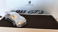 Porsche Gt3 Metal Car 1/43 Chromé