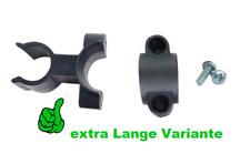 Stockhalter-Klemme für Gehstockhalter Rollator & Rollstuhl Gastrockklemme Halter