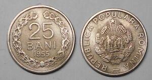 ROMANIA 25 Bani 1955