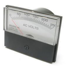Panel Meter, 0-250 Volt AC Meter, 75 x 58mm