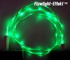 LifeShift Ladekabel für Android USB Micro B LED grün fliessend leuchtend 1m