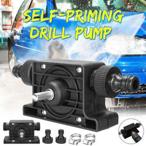 Portable Electric Drill Pump Self Priming Transfer Pump Oil Fluid Water 8mm