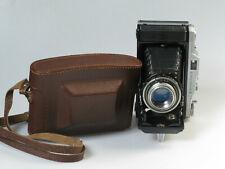 Balgenkamera 6x9 120er Rollfilm ERCONA II mit NOVONAR  1: 4,5 / 110 mm + Tasche
