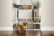 """Expandable Gate with Small Pet Door Mini  18"""" H x 26-42"""" W x 1"""" D"""
