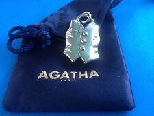 Pendentif Corset Masculin par AGATHA Paris / French Pendant