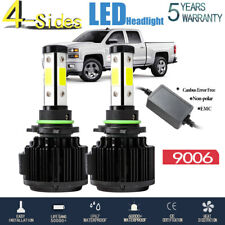 4Side 360° 9006 HB4 LED Headlight Bulb Low Beam 120W 32000LM Canbus EMC 6500K