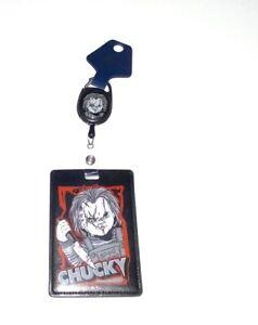 Universal Halloween Horror Nights 2021 Chucky Retractable Badge Reel