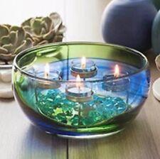 Partylite Spring Art Glass Multi-Tealight Holder BNIB #last one#