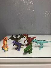 "Learning Curve Pbs Tomy Dino Dinosaur Train Figures Laura 6"" Giganotosaurus set"
