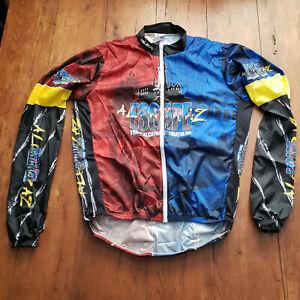 Voler Mens XL Cycling Jacket Windbreaker Race Alcatraz Tri California Sports