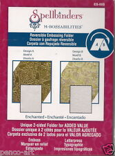 Spellbinders M-Bossabilities Reversible Embossing Folder Enchanted ES-005