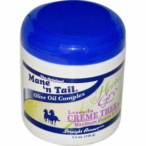 Mane 'n Tail Herbal Gro Leave-In Creme Therapy 156g / 5.5 oz