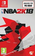 NBA 2k18 Nintendo SWITC Game Ro 99478