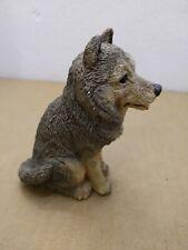 Stome critters Alaskan Malamute Dog Figurine 1987 udc sc-237