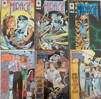 The Second Life of Dr. Mirage by Valiant Lot of 6 Issues 9 - 14