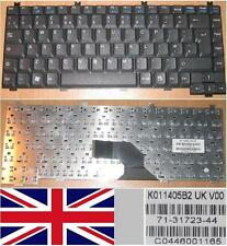 Clavier Qwerty UK Siemens Amilo L7300 V2010 Series, P/N: K011405B Noir/Black
