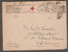 June 1919 WWI AEF censor cover Sgt George S James Medical Regt APO 701 to Maine