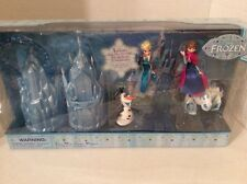 Disney Frozen Mini Castle Ice  Palace Play Set Elsa Anna Olaf Figure Dolls New