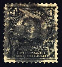 #311 $1.00 Grayish Black 1903 Farragut VF-XF Used