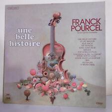"""33T Franck POURCEL Vinyle LP 12"""" UNE BELLE HISTOIRE Violon EMI 2C062-15557 RARE"""
