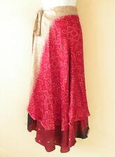 "X703 PLUS SIZE Vintage Silk Magic 36"" Wrap Skirt Halter Tube Maxi Dress + DVD"