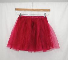 Gymboree Outlet Girls Size 10 Burgundy Tutu Skirt Twirl Elastic Waist Lined
