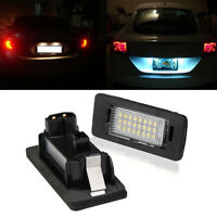 Mini LED License Number Plate Light Lamp Bulbs For BMW E39 E60 E82 E70 E90 E92