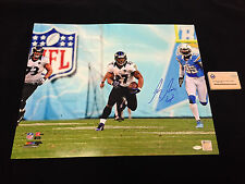 RAY RICE 4TH AND 29 BALTIMORE RAVENS AUTOGRAPHED 16X20 PHOTO STEINER COA SIGNED