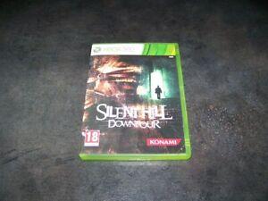 SILENT HILL DOWNPOUR XBOX 360 RARE