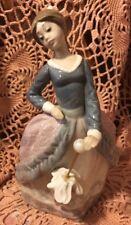Lladro 5212 Evita RETIRED Glossy Finish! Mint Condition! Pearl Replaced! No Box!