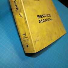 CATERPILLAR 422S Forklift Owner Repair Shop Service Manual book TOWMOTOR guide