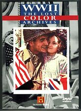 WWII: The Lost Color Archives - DVD, 2000 - 2-Disc Set - BRAND NEW