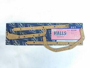 NOS Halls Brand Sump Gasket Set Fits Ford Consul MK1 & Consul MK2   SS13162