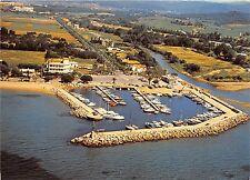 BR26082 La Londe vue aerienne du port de Miramar France