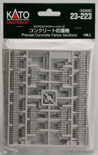 KATO N Scale 1/150 23-223 UNITRACK Precast Concrete Fence Sections /AIRMAIL Only